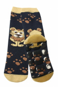 Weri Spezials Baby-Unisex Terry ABS Lionet Slippers Anti Non Slip Socks Marine