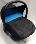 Universal Car Seat Footmuff To Fit Maxi Cosi Cabrio Turquoise