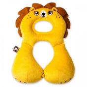 Benbat Travel Friends Headrest for 1-4 Years Lion - Yellow - New