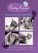 Inkless baby hand and foot print keepsake kit