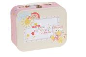 Baby Girls Memory Keepsake Box - New Baby - Christening Gift