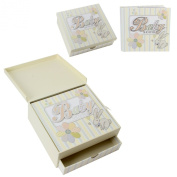 Laura Darrington Baby Shower Keepsake Box and Photo Album Gift Set