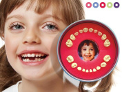 Baby Tooth Organiser || Firsty Round || (Red, Boy, Girl). 100% made in EU.
