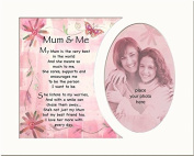 Memory Mounts Mum & Me Gift For A Photo Frame 25cm x 20cm