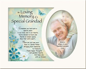 Memory Mounts Memorial In Loving Memory Of A Special Grandad Mount And Poem For A Photo Frame 25cm x 20cm