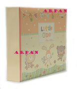 Large Baby Alphabet Slip In Case Photo Album For 200 Photos