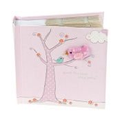 Quality Handcrafted Baby Pink Photo Album for Newborn Baby Girl by Mousehouse Gifts