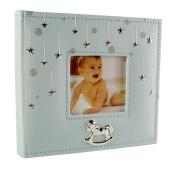 Baby Boy Stars Photo Album Gift 200cm x 15cm x 10cm