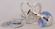 Crystal Temptations Silver Plated Dummy Blue