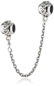 Pandora 791088 Silver Safety Chain Small Hearts, 5 cm