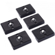 XCSOURCE® 5pcs Quick Release Plate For Bogen 3157N   Manfrotto 200PL-14 RC2 System 322 484 486 488 3