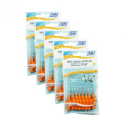 TePe Interdental Brushes Oral Dental Floss Toothbrush - Different Colours & Sizes (5 x Pack