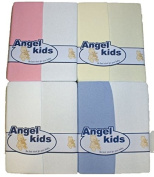 Moses basket fitted sheets BABY Pack of 2