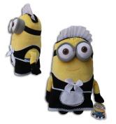 Phil Maid Minion 29cm Gru's Minions Soft Toy Doll Plush Despicable Me 2 Minions Yellow Henchmen Monster