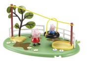 Peppa Pig Muddy Puddle Zipline Playground Playset