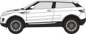 Oxford Diecast 76RR001 Range Rover Evoque
