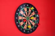 Magnetic Dart Board. Magnetic dart board game for kids. Inc. magnetic dartboard and 6 magnetic darts