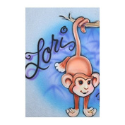 Monkey professional airbrush stencil