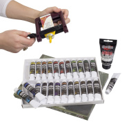 Complete Beginner/Student Travel Acrylic Set + FREE 75ml White and Tube Wringer