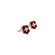 French classic Swiss Cross cufflinks cuff nail XK170524