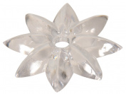 The Hillman Group 54095 Clear Star Rosette, 5.1cm , 12-Pack