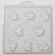 8 Cavity Assorted Childrens Soap/Bath Bomb Mould Mould M42