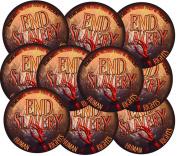 Ten End Slavery 7.6cm . Vinyl UV Protected Stickers