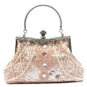 Belsen Women's Vintage Bead Sequin Evening Handbags