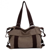 Aibag Women's Casual Canvas Everyday Purse Hobo Shoulder Bag