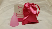BPA/Dioxin Free Silicone Menstrual Cup with Bag