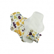 Pink Daisy Stay Dry Feminine Pads - 3 PACK