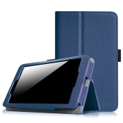 Fintie LG G Pad 7.0 Folio Case - Premium PU Leather With Auto Sleep / Wake Feature for LG G Pad V400 / V410 (LTE) / VK410 / UK410 / LK430 (G Pad F7.0) 18cm Android Tablet - Navy