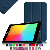 Fintie LG G Pad 7.0 Smart Shell Case - Ultra Slim Cover with Auto Sleep/Wake Feature for LG G Pad V400 / V410 (LTE) 18cm Android Tablet - Navy