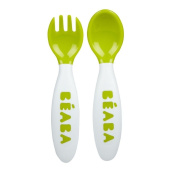 BEABA New 2nd Stage Soft Cutlery, Gipsy, 2 Count