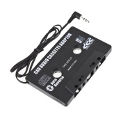 1Pcs Auto Car Audio Cassette Tape Adapter For Ipod Mp3 Mp4 Phone Cd Player