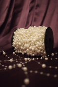 8mm & 3mm Pearl String Bead Garland Wedding Decoration 10m in length