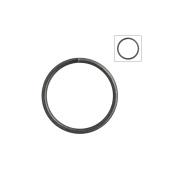 About 120pcs Zacoo Open Jump Rings Shape Round Colour Gun metal Black 14x14x1.2 Outside Diameter 14mm
