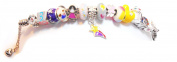Timeline Treasures Girls Charm Bracelet European Style Fits Pandora Jewellery Kit 2014