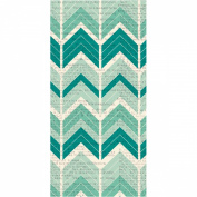 Hazel & Ruby Wrap it Up Paper Roll, 46cm by 370cm , Crazy for Chevy Teals