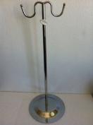 1 Silver Metal Countertop Handbag Display Hook Chrome Purse Hook