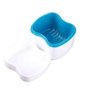 Convenience Portable Dental Mouth Tray Orthodontic Retainer Dentures Case Box