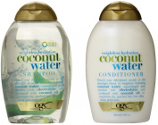 OGX Weightless Hydration Coconut Water Shampoo & Conditioner, 380ml