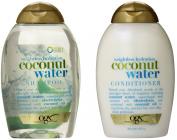 OGX Weightless Hydration Coconut Water Shampoo & Conditioner, 380ml