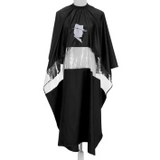 Smartbargain Waterproof Hair Cutting Barbers Gown Salon Cape Hairdressing See-through