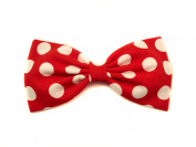 Red Large Polka Dot's Minnie Mouse Inspired Hair Bow