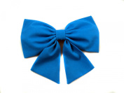 "Aqua/Teal Ariel ""The Little Mermaid"" Inspired Cheer Hair Bow"