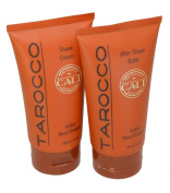 Cali Tarocco Shave Set Shave Cream and After Shave Balm