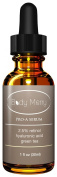RETINOL SERUM - Professional Grade 2.5% Retinol Serum with Hyaluronic Acid & Green Tea - Best Natural and Organic Anti-Ageing Serum for Wrinkles & Fine Lines - Evens your skin tone and addresses Dark Spots and Acne as well!. d