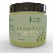 ★ Organic Seaweed Powder ★ The Best Seaweed Powder for Facial Masks, Cellulite Treatment & Body Wraps ★ 100% Pure Ascophyllum Nodosum Powder ★ Kelp Powder