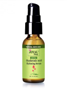 Hyaluronic Acid Serum 100 Pure-No Alcohol! No Oils! No Chemicals! Parabens-Free!100% Natural and 100% Vegan! Premium Quality Hyaluronic Acid Hydrating Serum by Joyal Beauty! Simply the Best Original Hyaluronic Acid for Younger, Firmer and Plump Skin. 1 ..